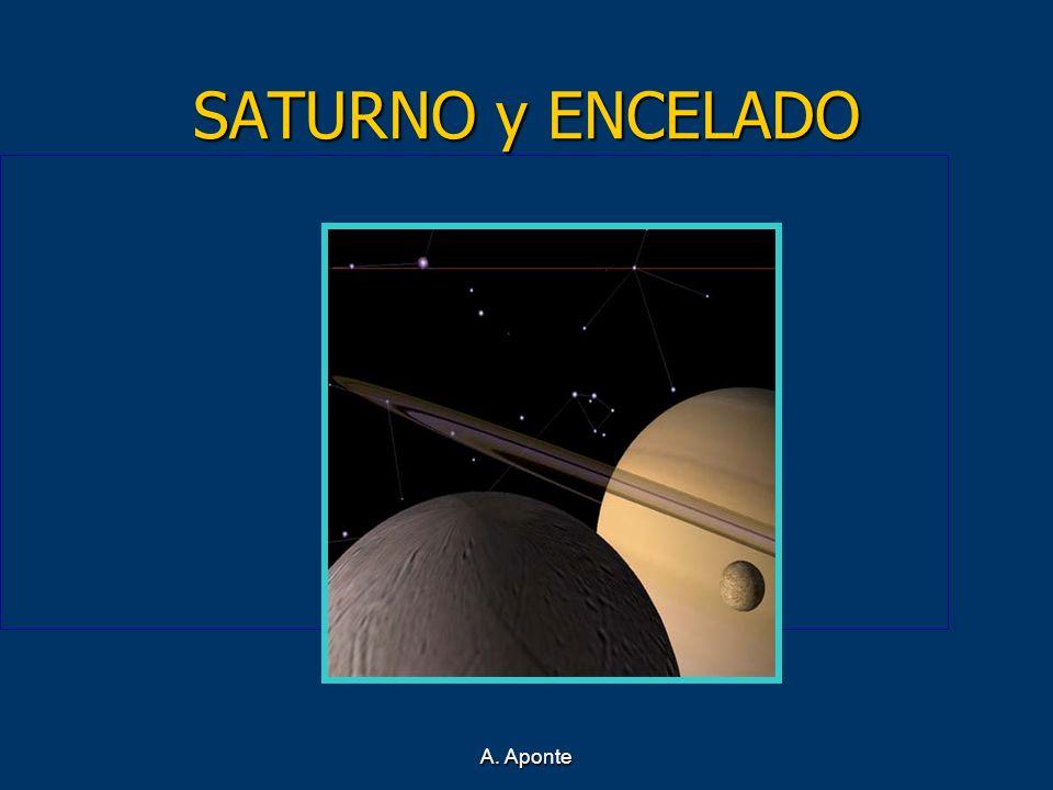 SATURNO y ENCELADO A. Aponte