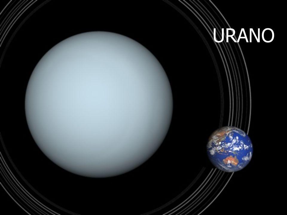 URANO Tamaños comparativos de Urano y la Tierra. A. Aponte