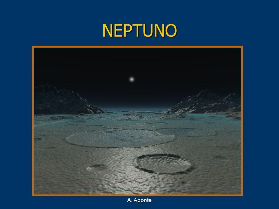NEPTUNO Recreación de la superficie de Neptuno A. Aponte