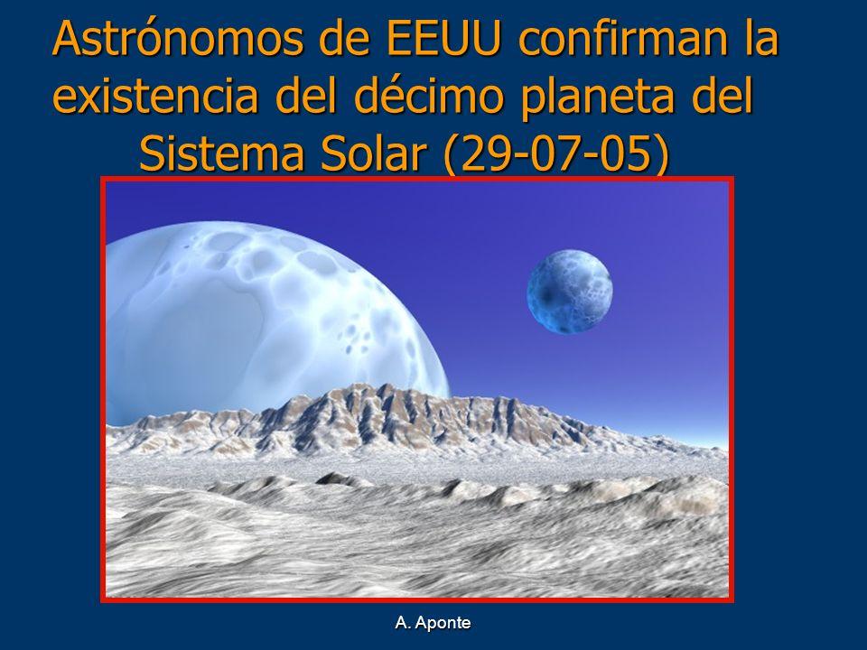 Astrónomos de EEUU confirman la existencia del décimo planeta del