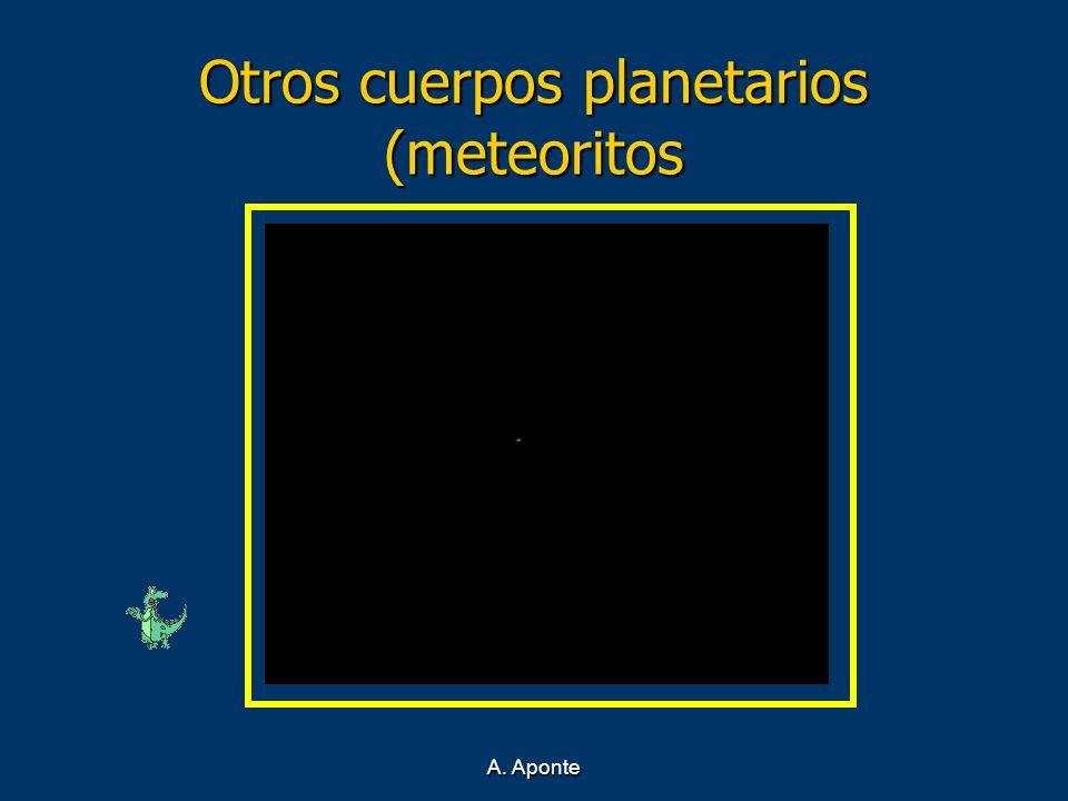 Otros cuerpos planetarios (meteoritos