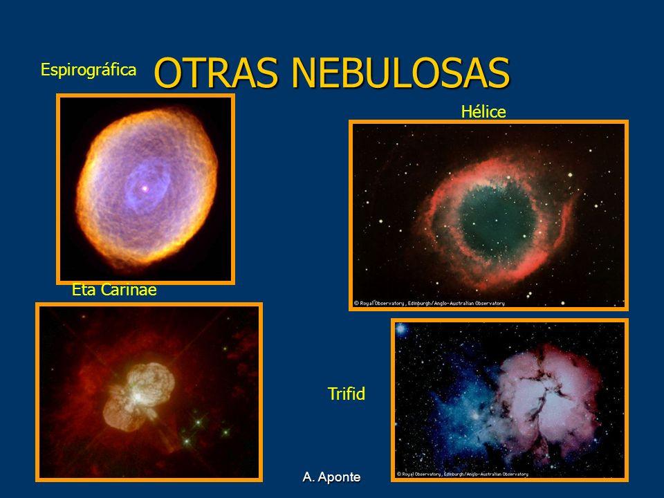OTRAS NEBULOSAS Espirográfica Hélice Eta Carinae Trifid A. Aponte
