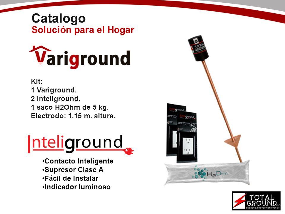 Catalogo Solución para el Hogar Kit: 1 Variground. 2 Inteliground.
