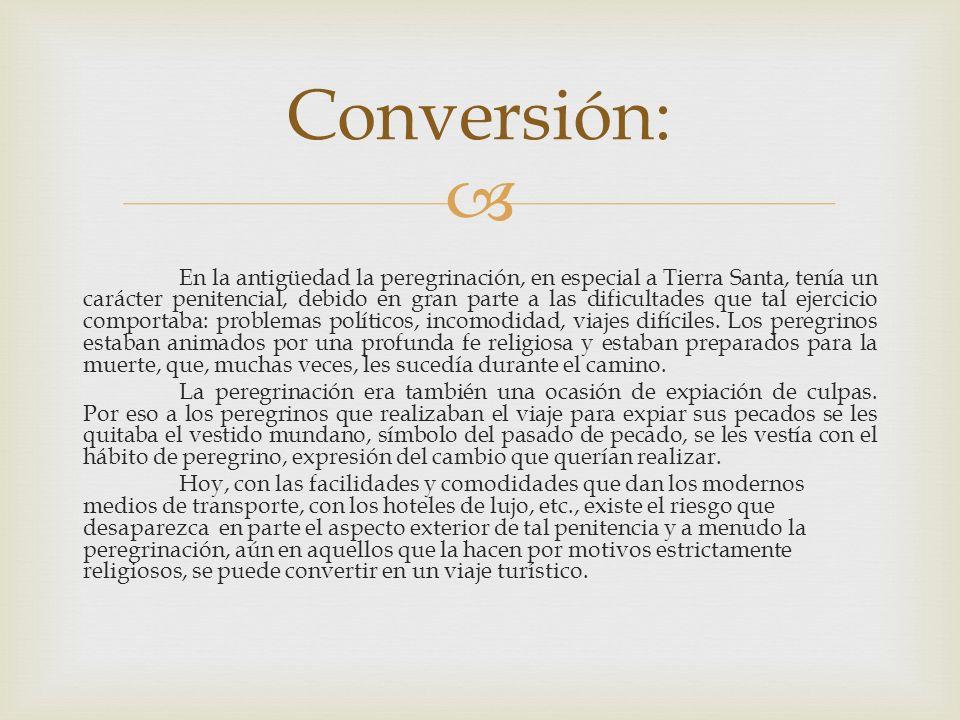 Conversión: