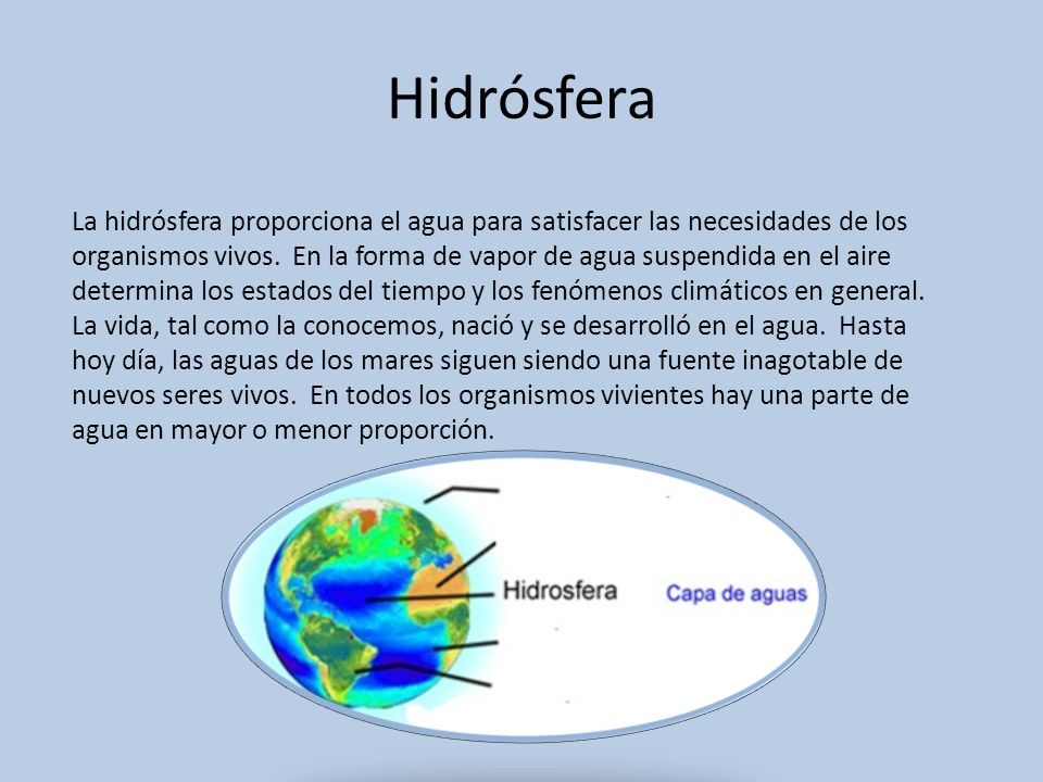 Hidrósfera