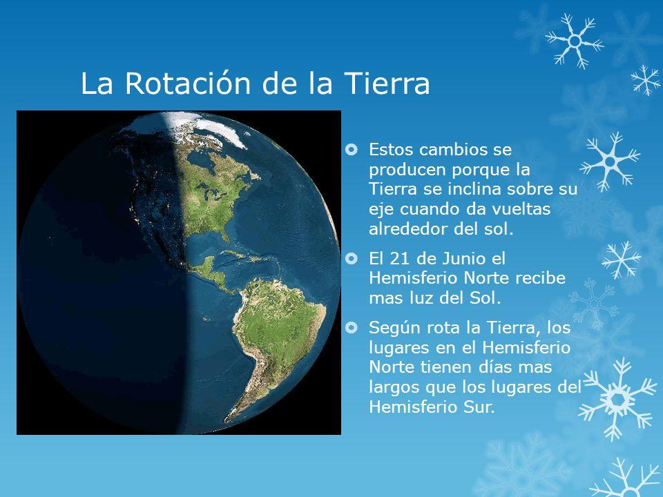 La Rotación de la Tierra