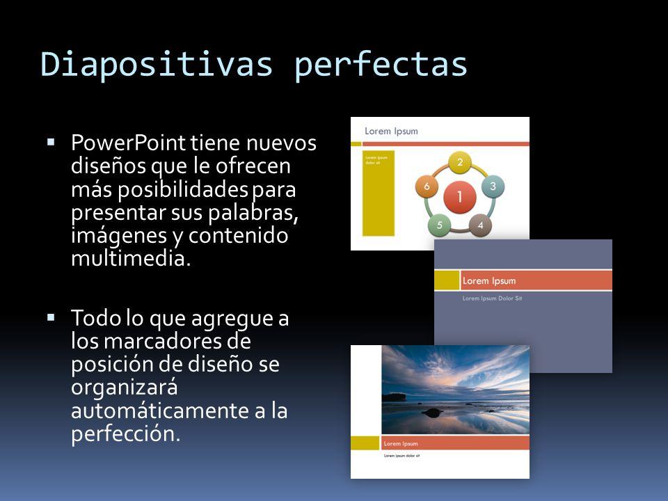 Diapositivas perfectas