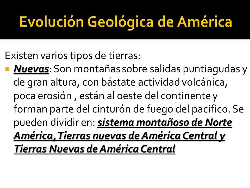 Evolución Geológica de América