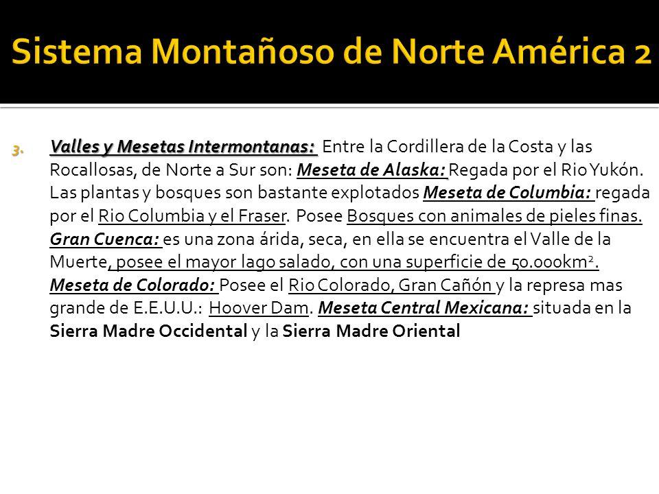 Sistema Montañoso de Norte América 2