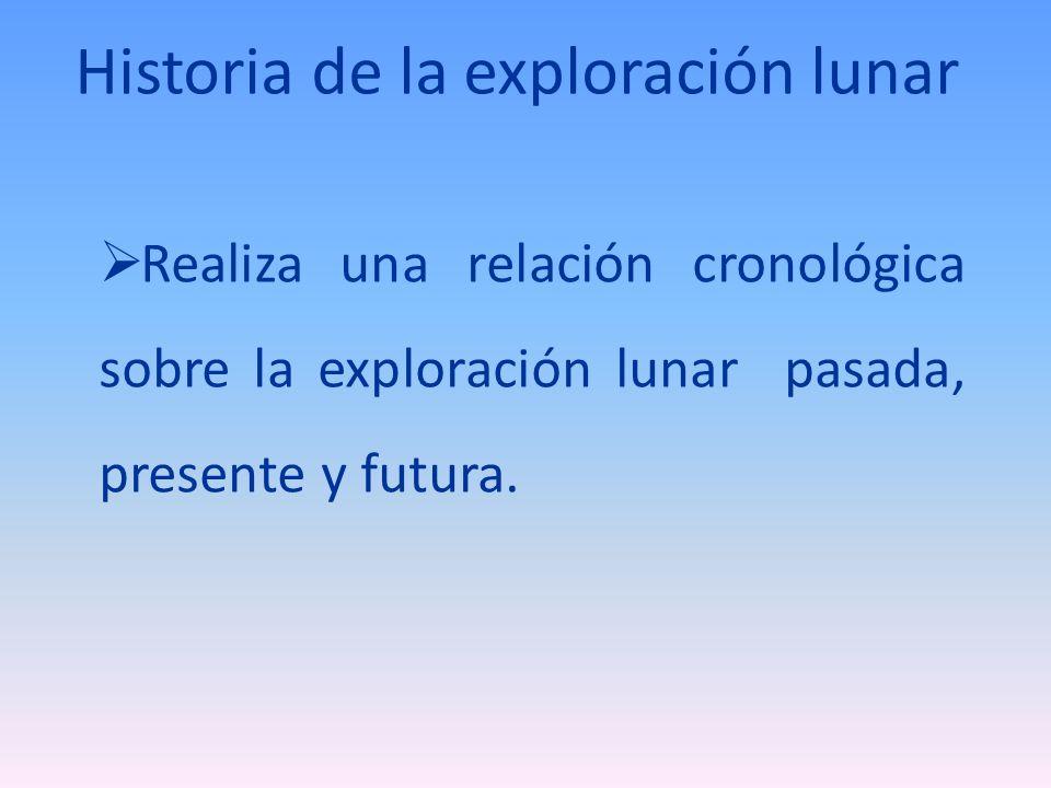 Historia de la exploración lunar