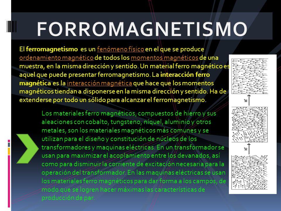 FORROMAGNETISMO