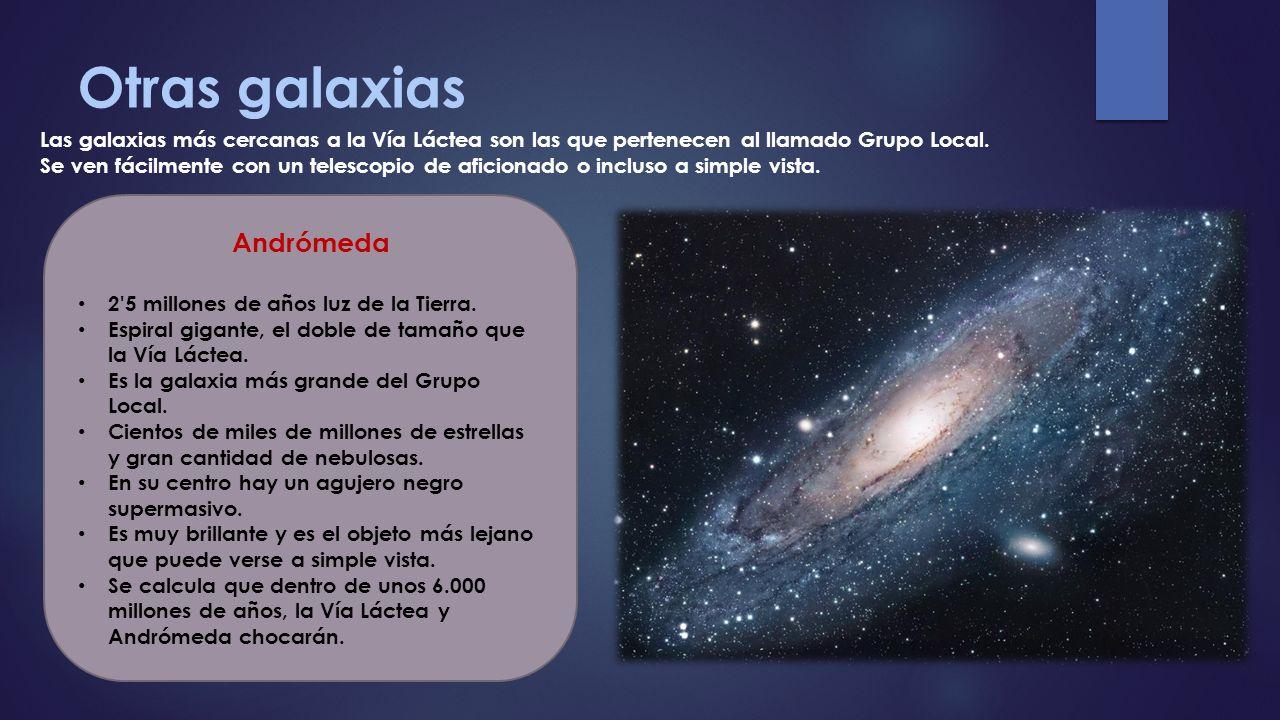 Otras galaxias Andrómeda