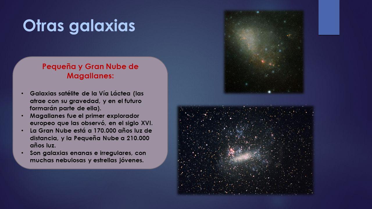 Pequeña y Gran Nube de Magallanes: