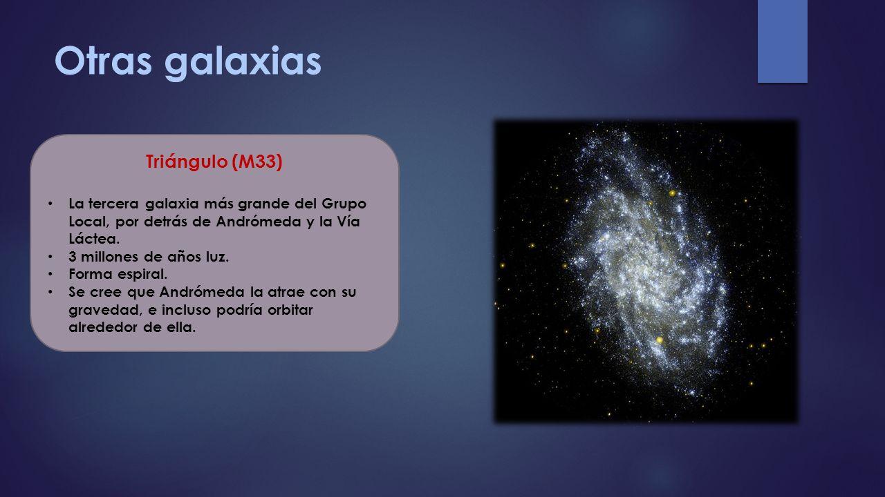 Otras galaxias Triángulo (M33)