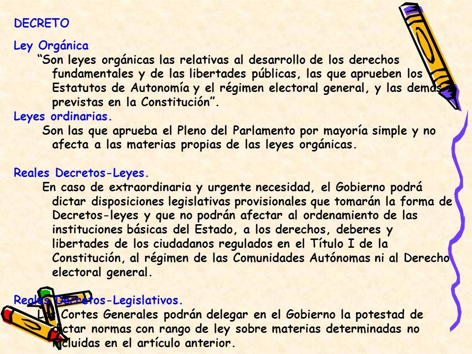 Reales Decretos-Leyes.