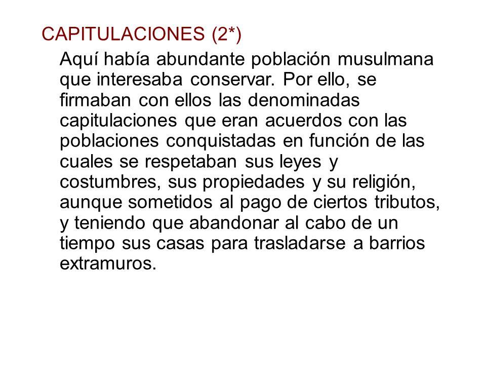 CAPITULACIONES (2*)