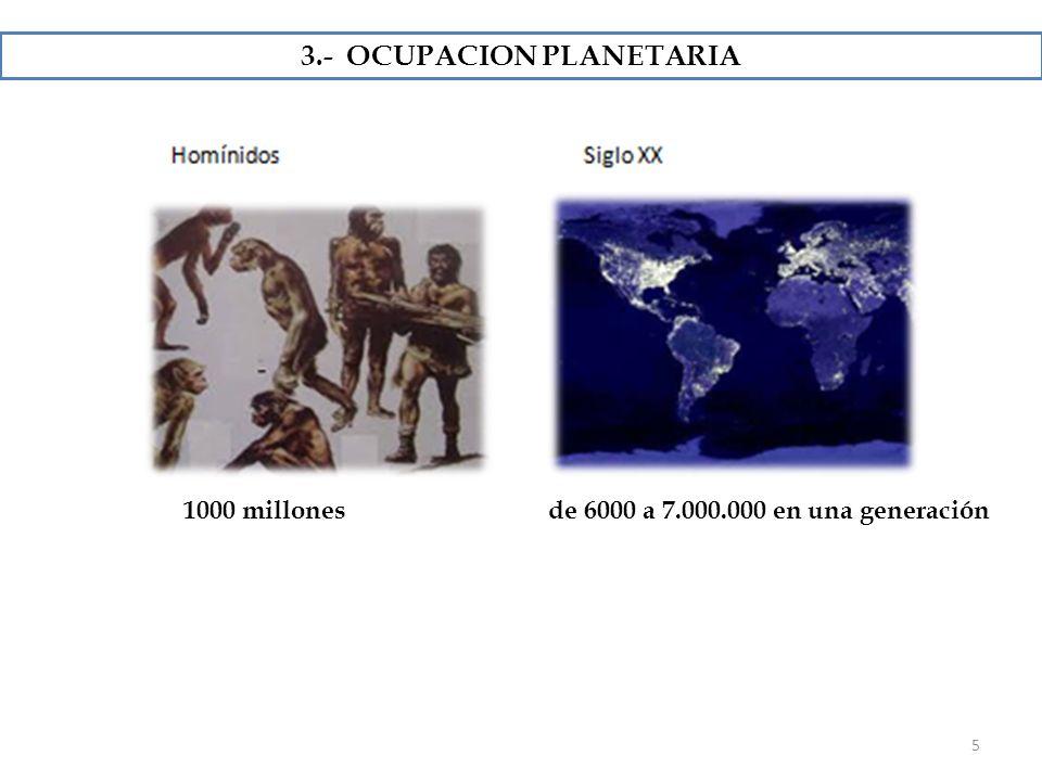 3.- OCUPACION PLANETARIA