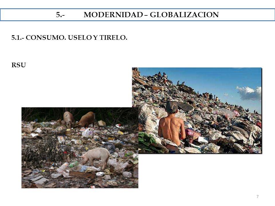 5.- MODERNIDAD – GLOBALIZACION
