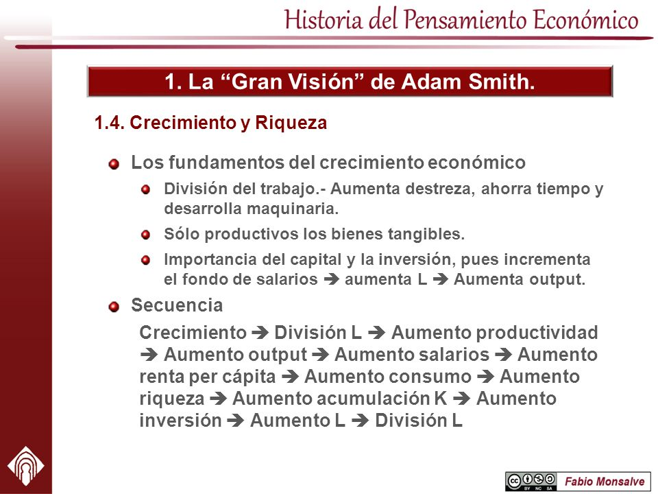 1. La Gran Visión de Adam Smith.