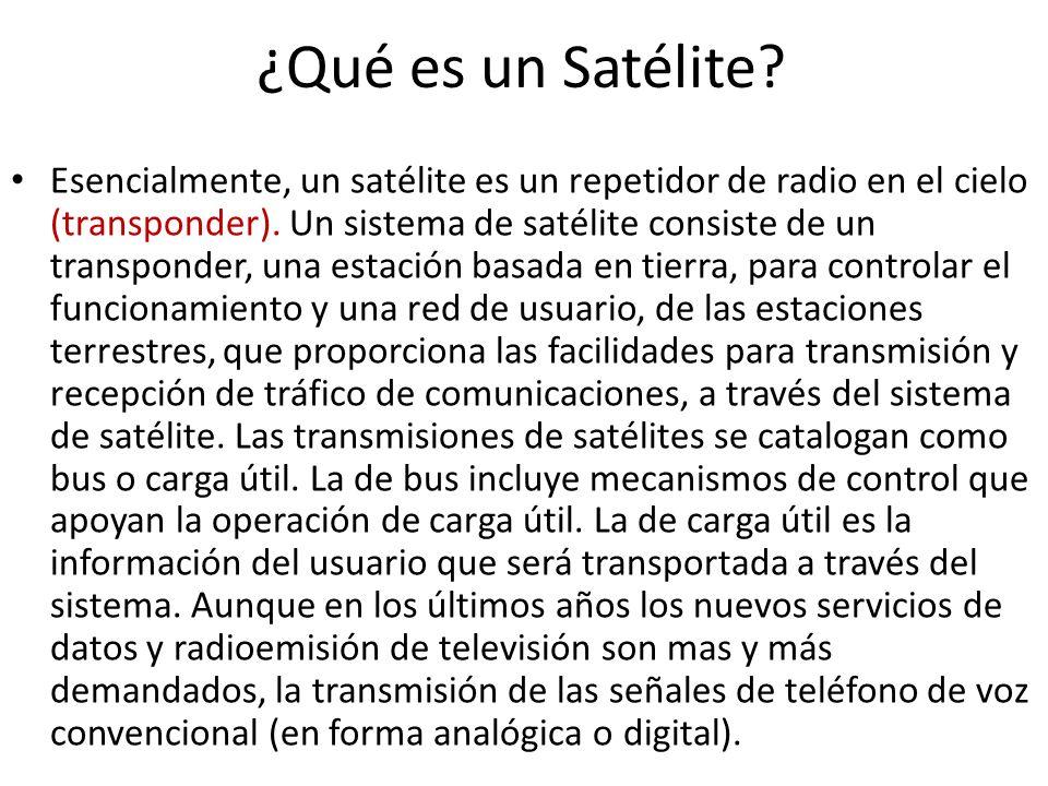¿Qué es un Satélite