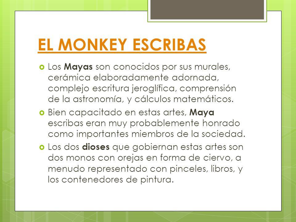 EL MONKEY ESCRIBAS