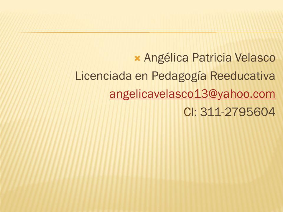Angélica Patricia Velasco