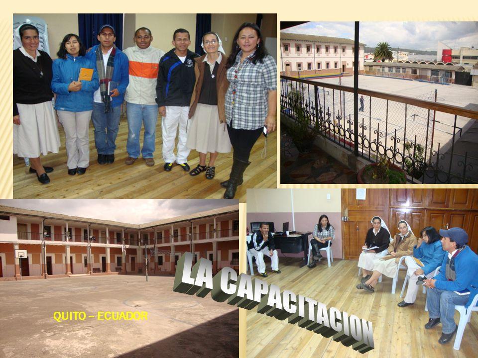 LA CAPACITACION QUITO – ECUADOR