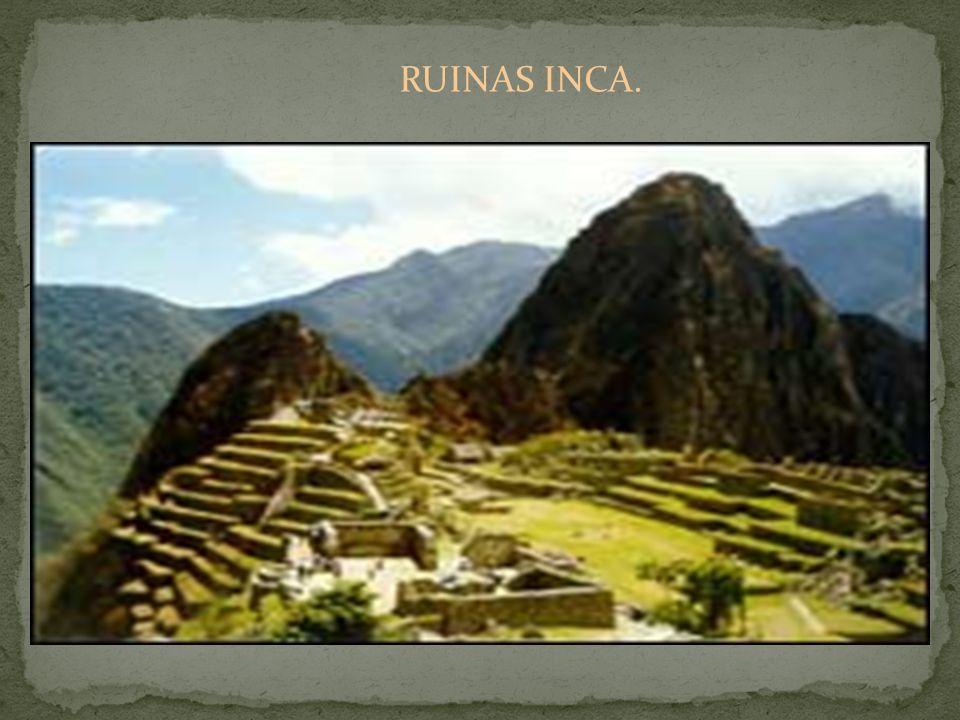 RUINAS INCA.