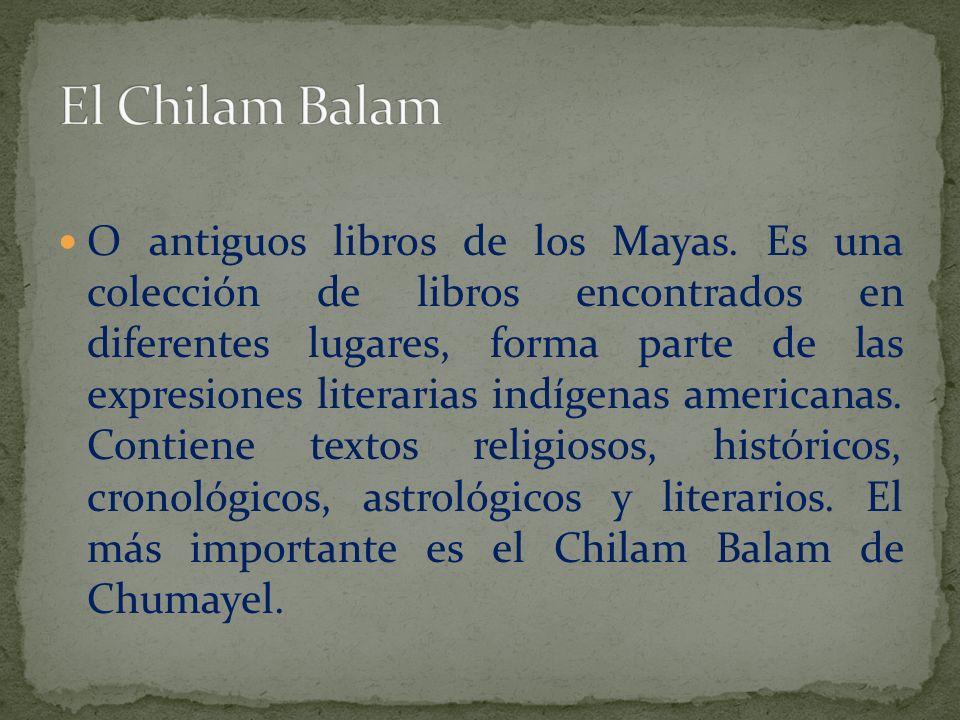 El Chilam Balam