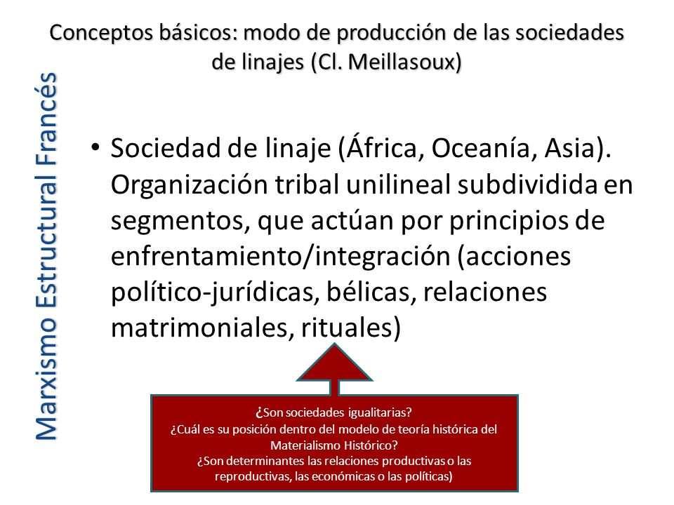 ¿Son sociedades igualitarias