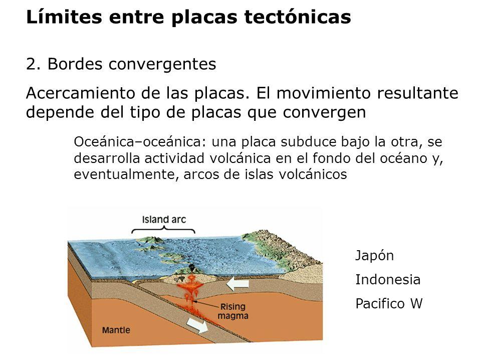 Límites entre placas tectónicas