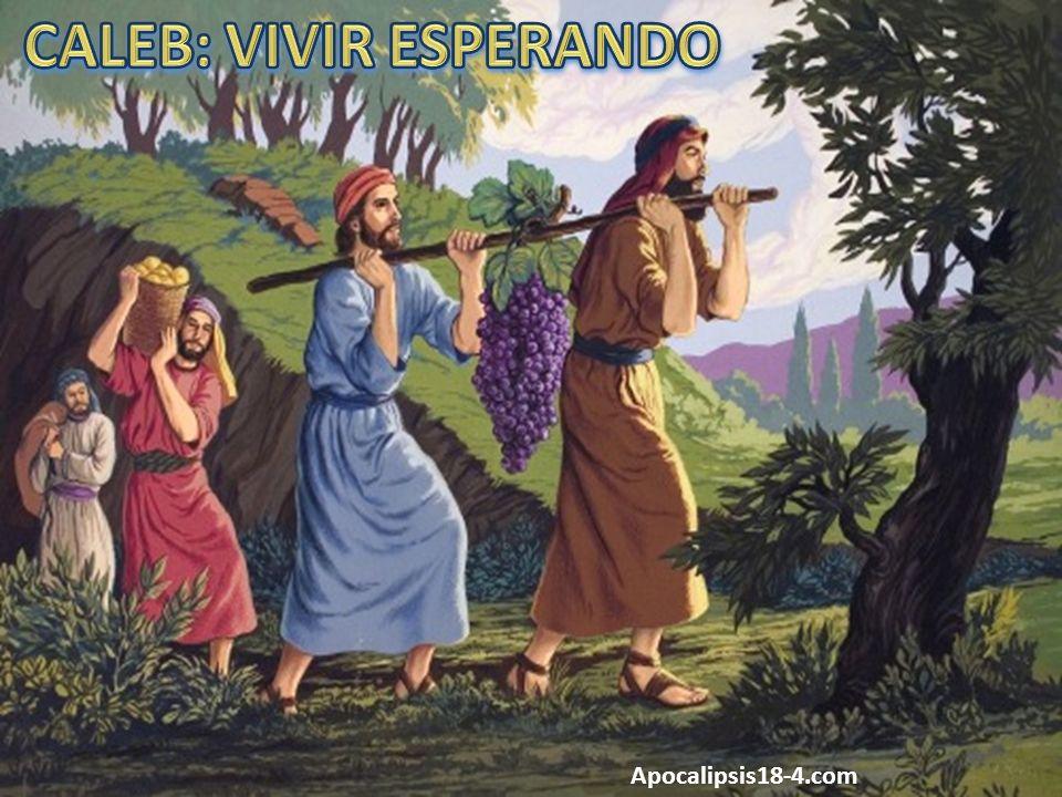 CALEB: VIVIR ESPERANDO