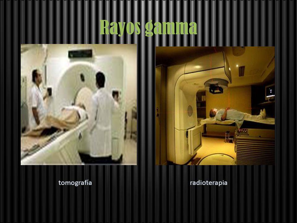 Rayos gamma tomografía radioterapia