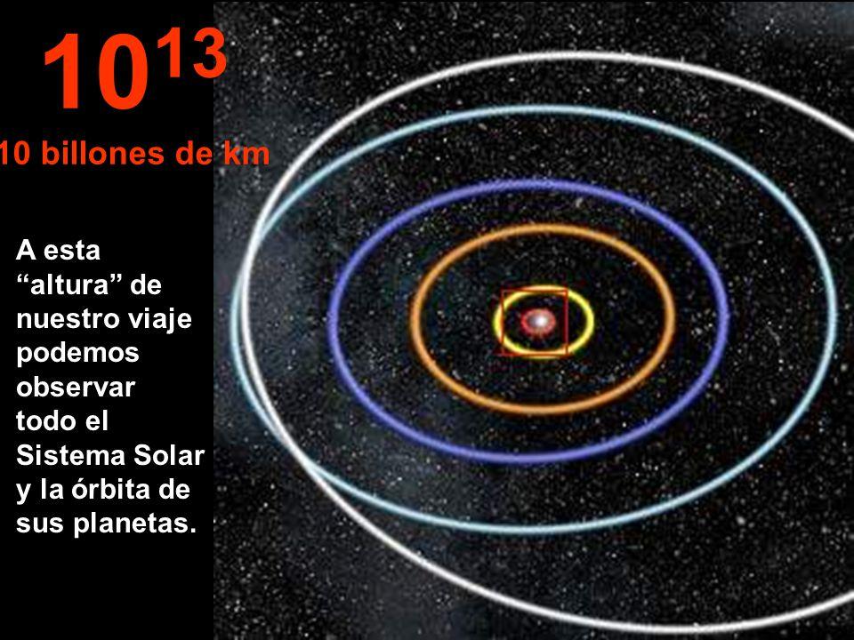 1013 10 billones de km.