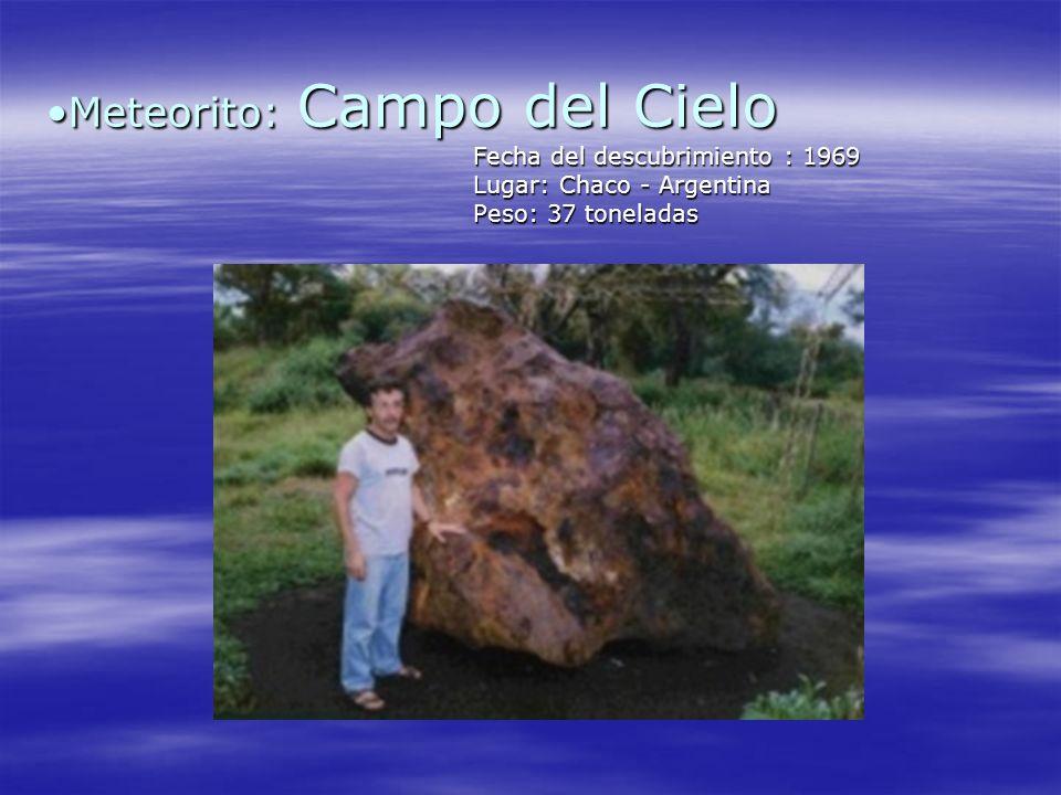 Meteorito: Campo del Cielo