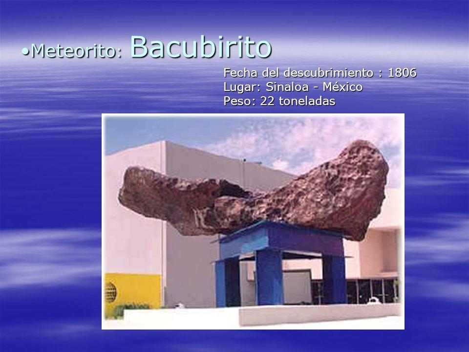 Meteorito: Bacubirito