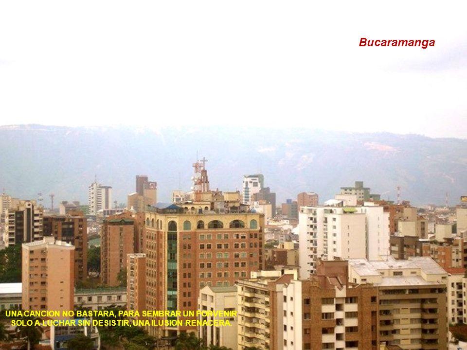 Bucaramanga UNA CANCION NO BASTARA, PARA SEMBRAR UN PORVENIR