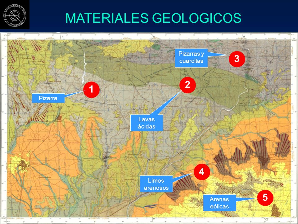 MATERIALES GEOLOGICOS