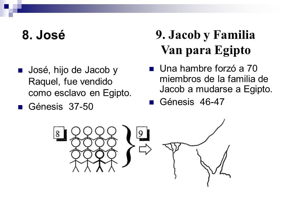 9. Jacob y Familia Van para Egipto