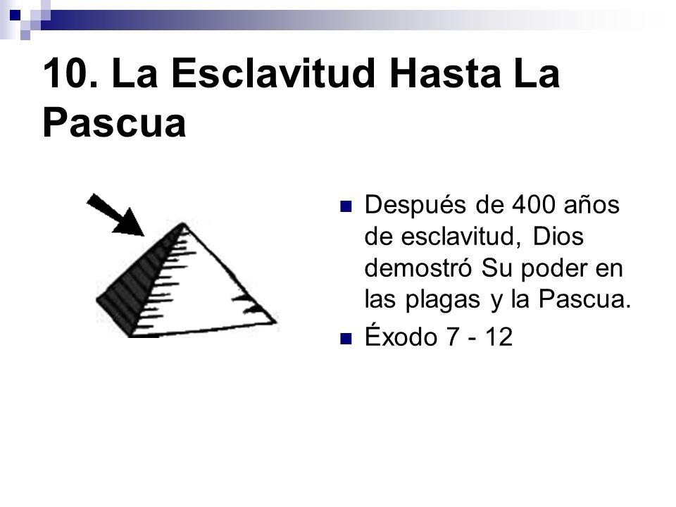 10. La Esclavitud Hasta La Pascua