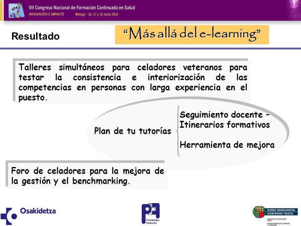 Más allá del e-learning