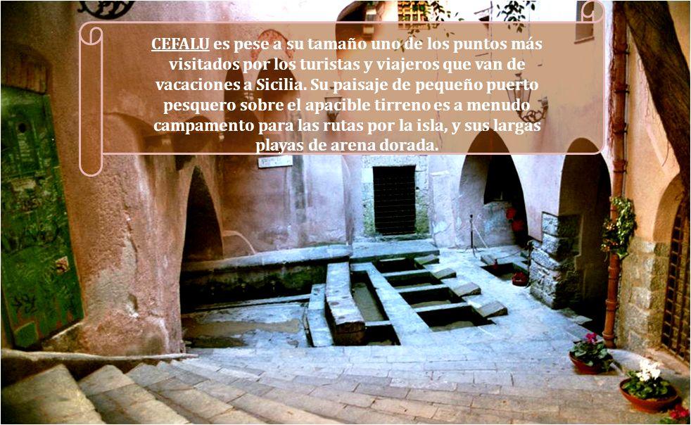 CEFALU es pese a su tamaño uno de los puntos más visitados por los turistas y viajeros que van de vacaciones a Sicilia.
