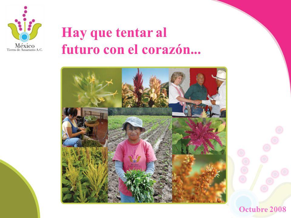 Hay que tentar al futuro con el corazón... Octubre 2008
