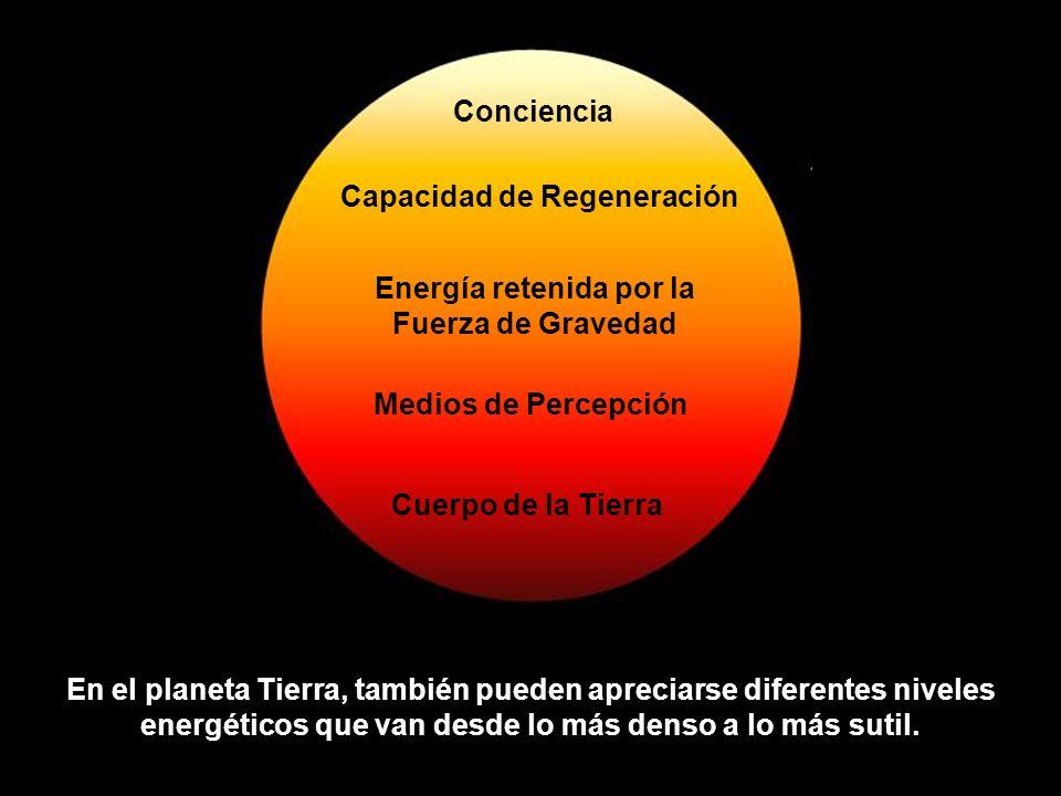 Capacidad de Regeneración Energía retenida por la Fuerza de Gravedad