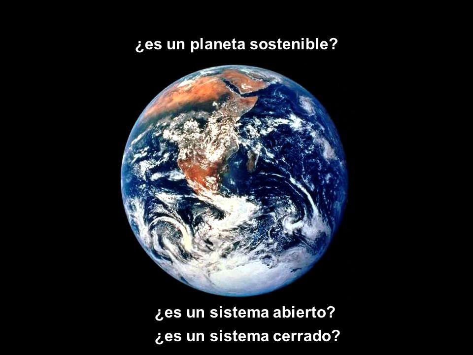 ¿es un planeta sostenible