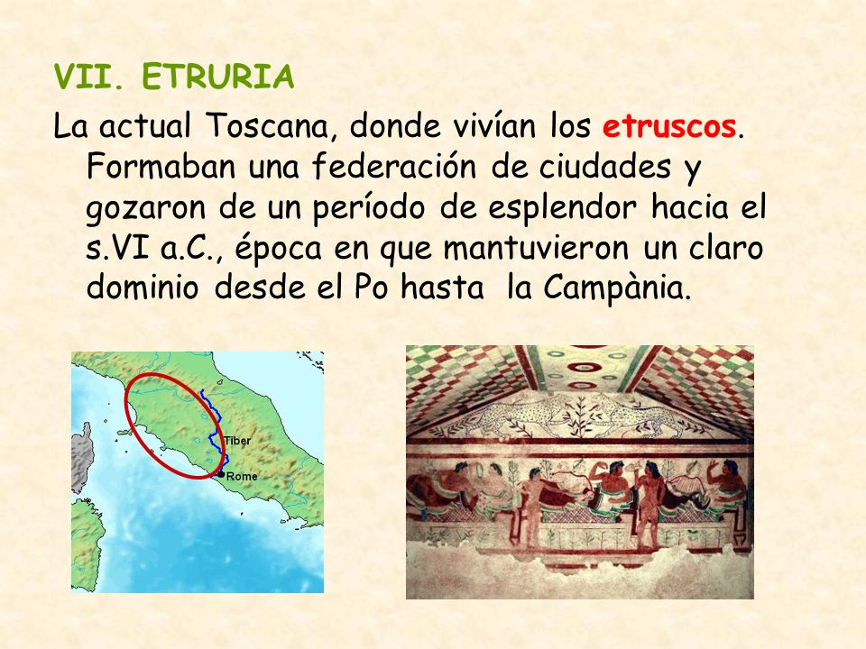 VII. ETRURIA