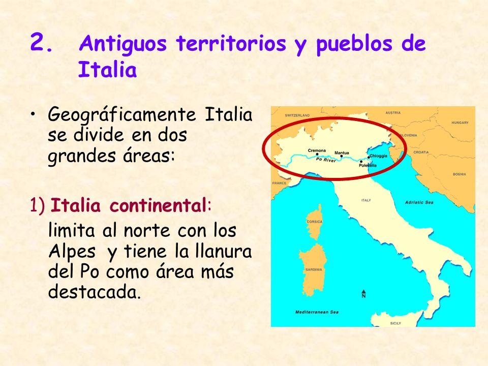 2. Antiguos territorios y pueblos de Italia