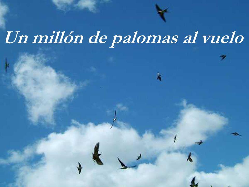 Un millón de palomas al vuelo