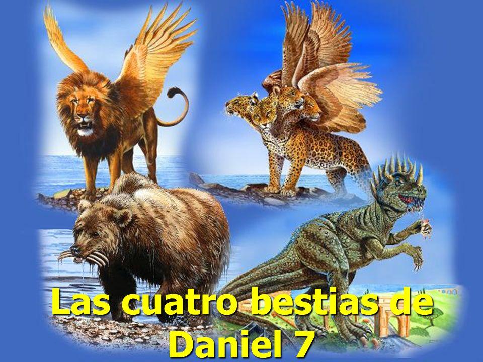 Las cuatro bestias de Daniel 7