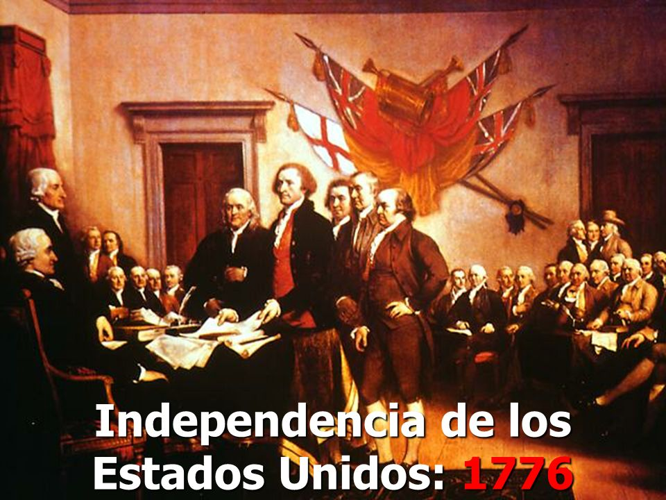 Independencia de los Estados Unidos: 1776
